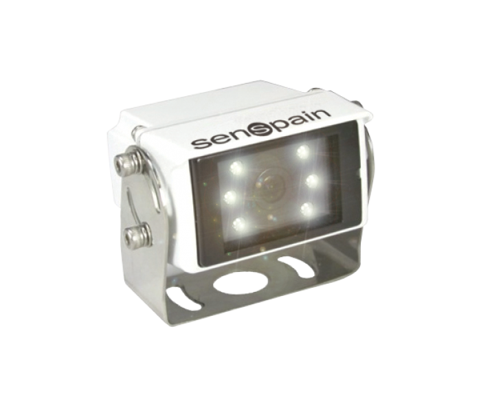 S-CMT77 HD-78°-Cámara IP69K HD White Leds