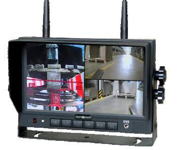 "S-M127WQ-Monitor inalámbrico 7"" QUAD VISION"